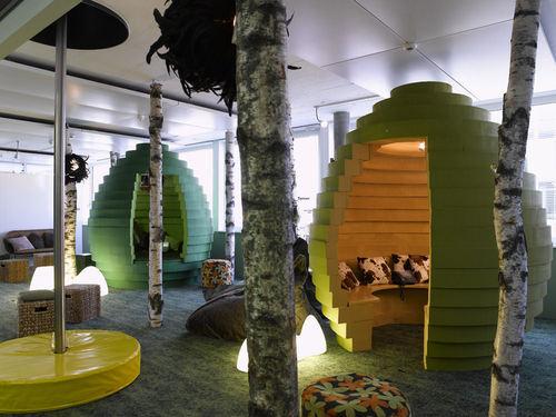 Chez google suisse les salles de pause inspirent le respect at diaposon - Travailler chez google france ...