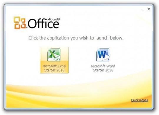 Office 2010 starter sur les traces d at diaposon - Office starter telecharger ...