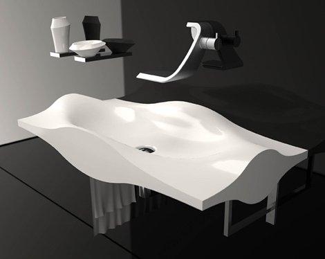 Des lavabos ultra design at diaposon - Picas de bano ...