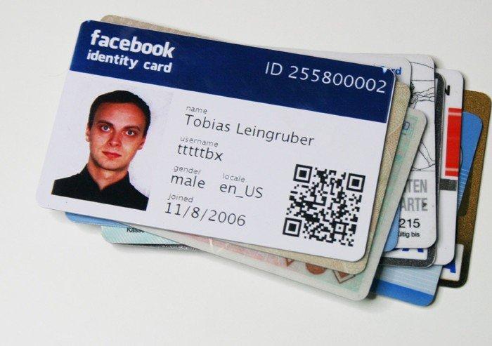 Facebook-Bureau carte d'identité facebook dans L'info mondiale et autres en images ou vidéos